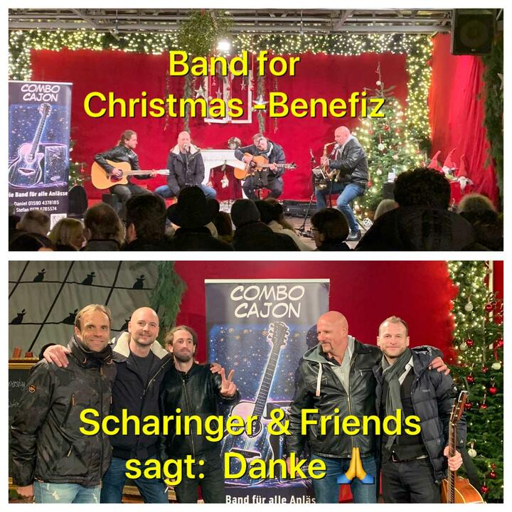 Band for Christmas-Benefiz